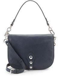 Vince Camuto - Flap Leather Shoulder Bag - Lyst