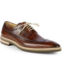 Mezlan - Maraval Leather Derbys - Lyst