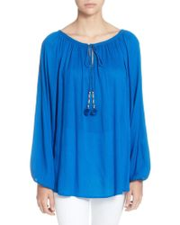 Catherine Malandrino - Sufi Long-sleeve Blouse - Lyst