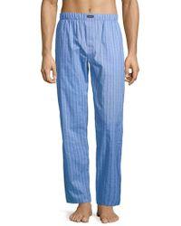 Calvin Klein - Logo Cotton Sleep Pants - Lyst