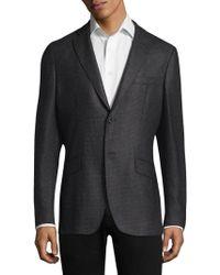 Etro - Birdseye Silk & Wool Sportcoat - Lyst