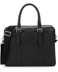 Cole Haan - Classic Leather Top Handle Bag - Lyst