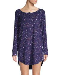 Juicy Couture - I Dream Of Juicy Print Sleep Shirt - Lyst 1965feb00