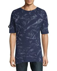 American Stitch - Printed Cotton Tee - Lyst