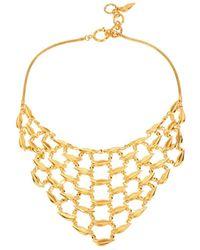 Diane von Furstenberg - Midnight Kiss Bib Necklace - Lyst