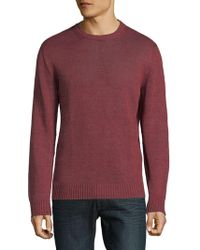 Corneliani - Wool Knit Crewneck Sweater - Lyst
