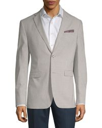 Original Penguin - Gingham Long-sleeve Blazer - Lyst