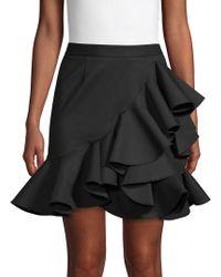 Ronny Kobo - Solange Ruffled Skirt - Lyst