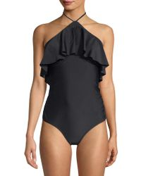 6 Shore Road By Pooja - Katie's One-piece Ruffled Swimsuit - Lyst