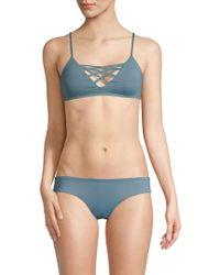 L*Space - Jamie Bikini Top - Lyst