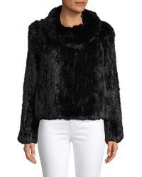 Annabelle New York - Rabbit Fur Jacket - Lyst