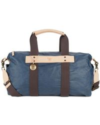 Will Leather Goods - Waxed Canvas Duffel Bag - Lyst