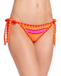 Same Swim - The Tease Side-tie Bikini Bottom - Lyst