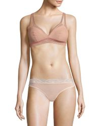 Wolford - Sheer Triangle Bra - Lyst