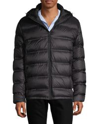 Saks Fifth Avenue - Seamless Hooded Puffer Jacket - Lyst