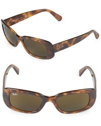 Ray-Ban - 50mm Rectangle Sunglasses - Lyst