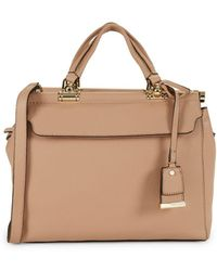 Vince Camuto - Carla Leather Satchel - Lyst