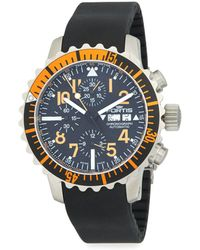 Fortis - Stainless Steel Automatic Strap Chronograph Watch - Lyst
