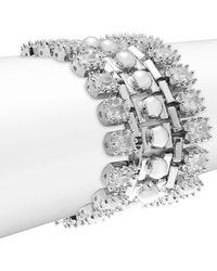 Eddie Borgo - Dome Estate Crystal Bracelet - Lyst