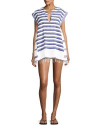 lemlem - Lulu Stripe Caftan Dress - Lyst