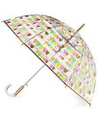 Shedrain - Flamingo Print Umbrella - Lyst