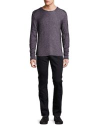 John Varvatos - Wool Blend Jumper - Lyst