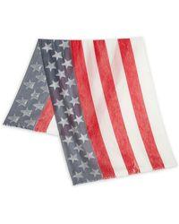 Roda - Burnout Usa Flag Scarf - Lyst