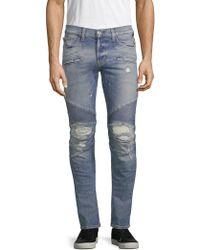 Hudson Jeans - Blinder Biker Skinny Fit Jeans - Lyst
