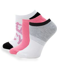 Juicy Couture - Three-pack Classic Ankle Socks - Lyst