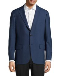 Hickey Freeman - Milburn Ii Textured Wool Jacket - Lyst