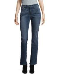 NYDJ - Marlyn Straight-leg Jeans - Lyst