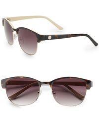 O By Oscar De La Renta - 56mm Modern Square Sunglasses - Lyst
