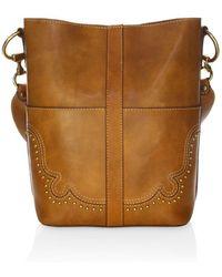Frye - Leather Bucket Bag - Lyst