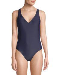 Rachel Roy - One-piece Classic Swimsuit - Lyst