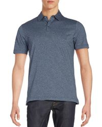 Robert Barakett - Mouline Cotton Polo Shirt - Lyst