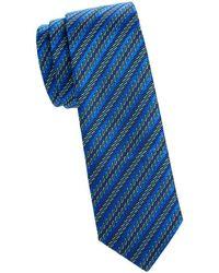 Missoni - Striped Skinny Silk Tie - Lyst