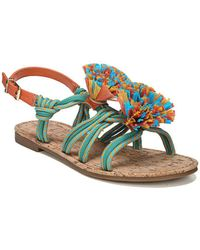 Circus by Sam Edelman - Bice Fabric Flat Sandals - Lyst