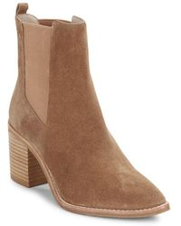 Kenneth Cole - Quinley Suede Ankle Boots - Lyst