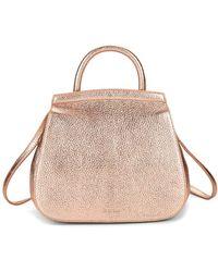Steven Alan - Kate Convertible Metallic Leather Backpack - Lyst