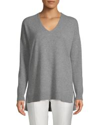 Saks Fifth Avenue - High-low Cashmere Jumper - Lyst