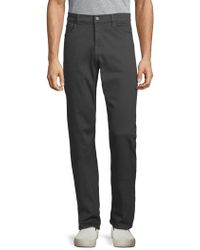 7 For All Mankind - Slimmy Straight Pants - Lyst
