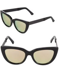 Sunday Somewhere - Tinted 54mm Cat Eye Sunglasses - Lyst