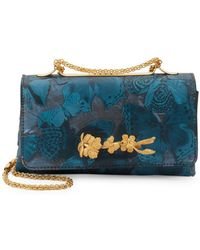 Valentino - Leather Butterfly Shoulder Bag - Lyst