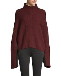 Zadig & Voltaire - Lola Oversized Jumper - Lyst