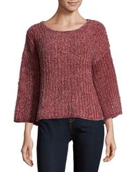 Saks Fifth Avenue - Chenille Slouch Sweater - Lyst
