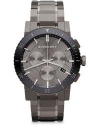 Burberry - Men's 42mm Stainless Steel & Ceramic City Bracelet Watch - Lyst