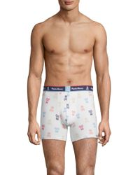 Psycho Bunny - Printed Knit Boxer Brief - Lyst