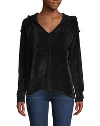 Saks Fifth Avenue - Chenille Ribbed Hoodie - Lyst