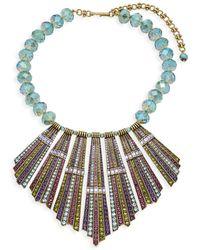 Heidi Daus - Sun Palace Crystal Beaded Statement Necklace - Lyst