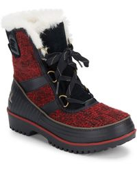 Sorel - Tivoli Lace-up Boots - Lyst